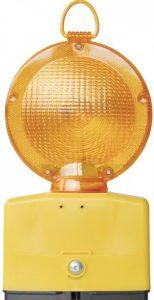 Obstakellamp geel