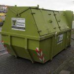 10 m³ portaalcontainer gesloten