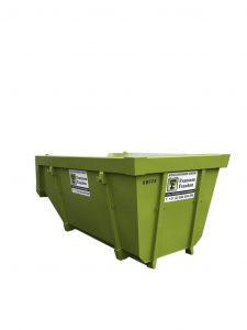 10 m³ portaalcontainer open