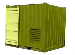 Start-up container 100 kVA