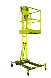 Masthoogwerker 7,5 m elektrisch