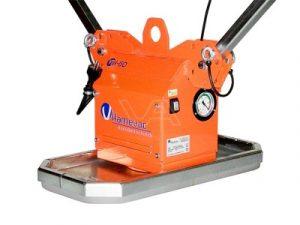 Vacuüm unit t.b.v. kraan met accu (400 kg)